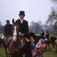 Roger Scruton, Mrs David Abel Smith and Eliza Abel Smith