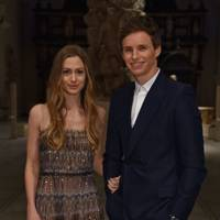 Hannah and Eddie Redmayne