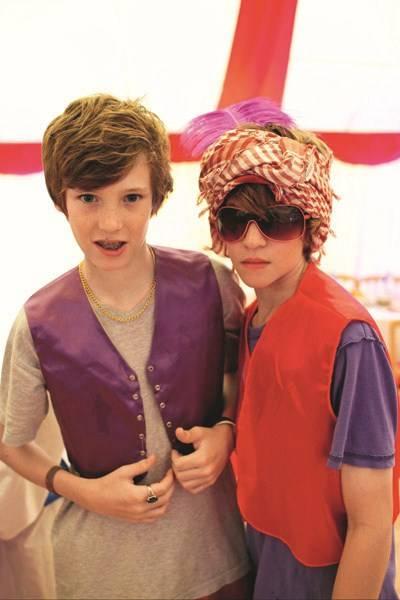Toby Whittaker and Jasper Ross