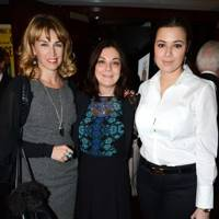 Assia Webster, Susan Young and Hannah Young