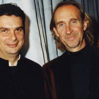 Andrew Haynes and Mike Rutherford