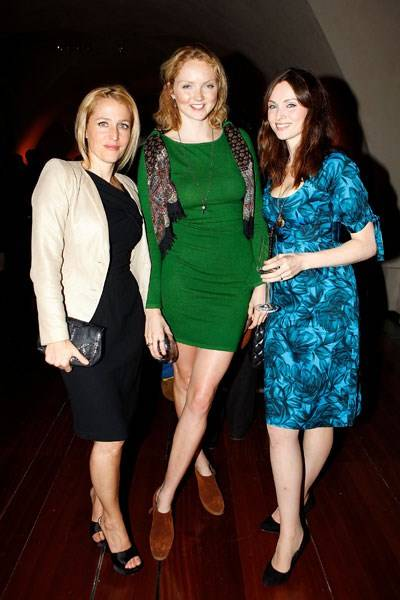 Gillian Anderson, Lily Cole and Sophie Ellis-Bextor