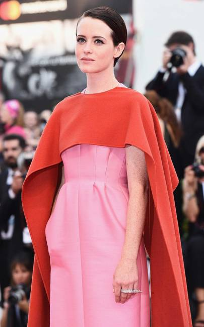 Claire Foy wearing Messika