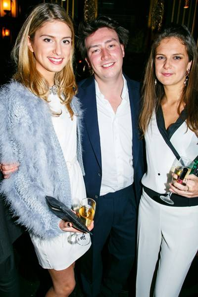 Lady Alice Herbert, Jamie Glover and Lady Jemima Herbert