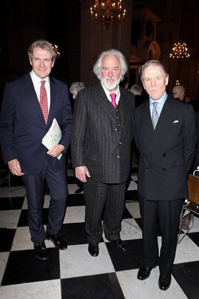Robert Bathurst, Sir John Tomlinson and Edward Fox