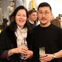 Issy Tennant and Eudon Choi