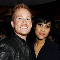Greg Rutherford and Zawe Ashton