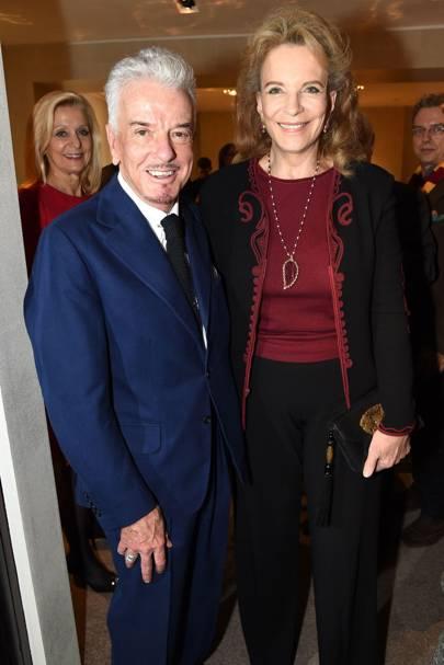 Nicky Haslam and Princess Michael of Kent