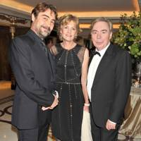 Nathaniel Parker, Lady Lloyd-Webber and Lord Lloyd-Webber