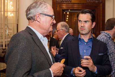 Jim Broadbent and Jimmy Carr