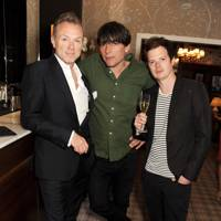Gary Kemp, Alex James and Richard Jones