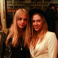 Cara Delevingne and Niamh Watmore