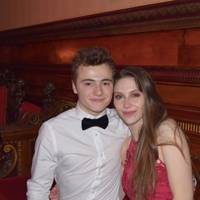 Joe Chivers and Millie Ludlow