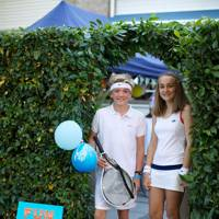 Alexander Andreae and Poppy Napier as 'Wimbledon'