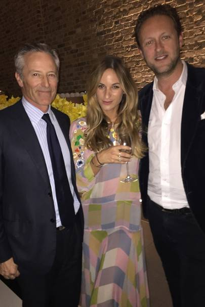 Tom Walker, Kimberly Hammerstroem and Lord Edward Spencer-Churchill