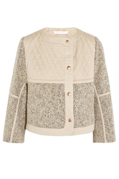 Jacket, £330, by See by Chloe at Net-a-Porter
