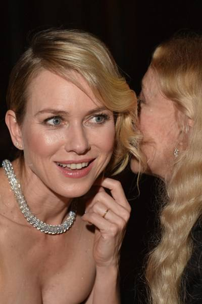 Naomi Watts and Franca Sozzani