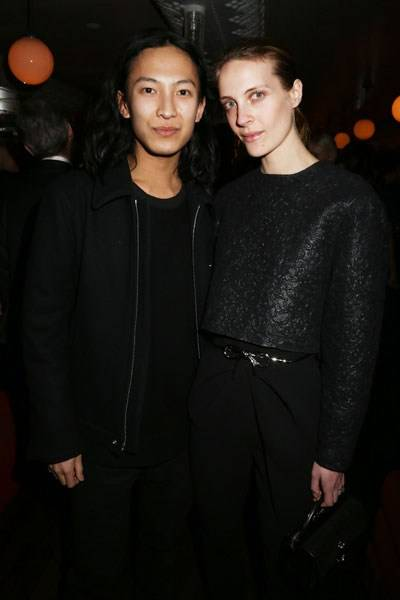 Alexander Wang and Vanessa Traina
