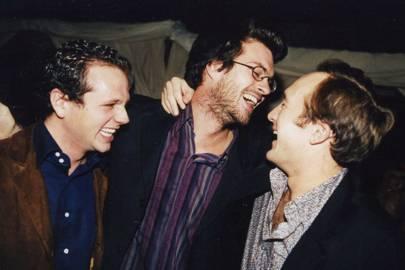 Rodolphe Lompard, John Bishop and Hugo de Blocq van Kuffeler