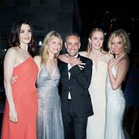 Rachel Weisz, Melanie Laurent, Francisco Costa, Emily Blunt and Sienna Miller