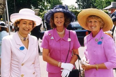 Lady Howard de Walden, Mrs Michael Wiggin and the Marchioness of Zetland