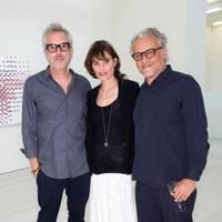 Alfonso Cuarón, Sheherazade Goldsmith and Gabriel Orozco