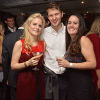 Jessica Richardson, Hugh Sancroft-Baker and Alexandra Summerfield