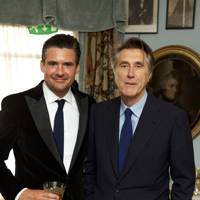 Ed Taylor and Bryan Ferry