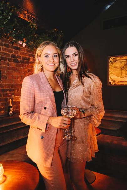Hermione Underwood and Amber Le Bon
