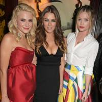 Pixie Lott, Elizabeth Hurley and Laura Whitmore
