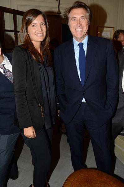 Amanda Ferry and Bryan Ferry