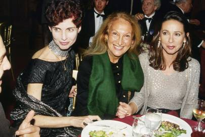 Nathalie Hambro, Mimi O'Connell and Mrs Jean-Jacques Lebel