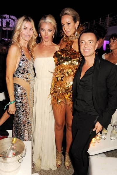 Melissa Odabash, Tamara Beckwith, Lady Victoria Hervey and Julien Macdonald