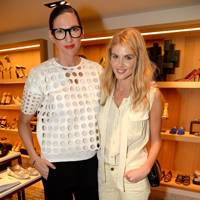 Jenna Lyons and Donna Air
