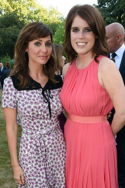 Natalie Imbruglia and Princess Eugenie