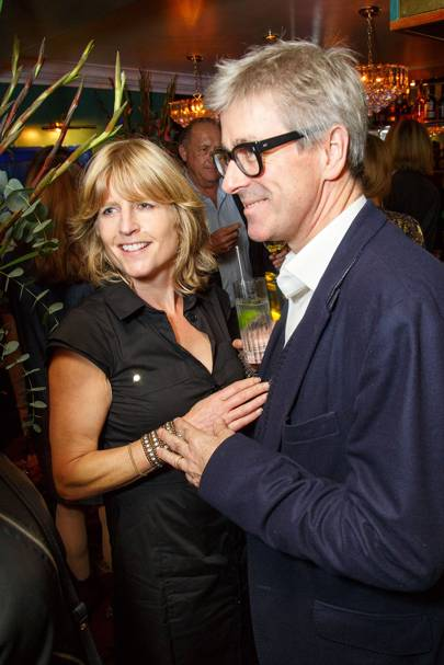 Rachel Johnson and Tim Taylor