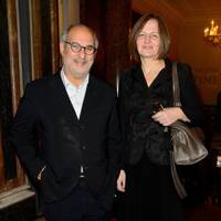 Alan Yentob and Jane Cauldwell