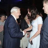 Sir David Attenborough and the Duchess of Cambridge