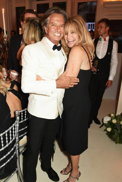 Richard Caring and Goldie Hawn