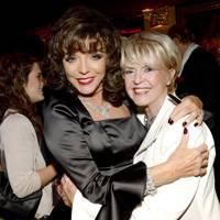 Joan Collins and Gloria Hunniford