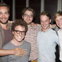 Tom Mison, Joshua McGuire, Edward Killingback, Jolyon Coy and Harry Lister Smith