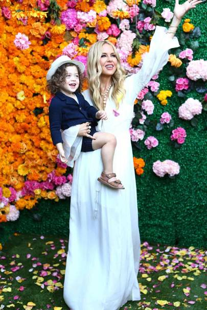 Kaius Jagger Berman and Rachel Zoe
