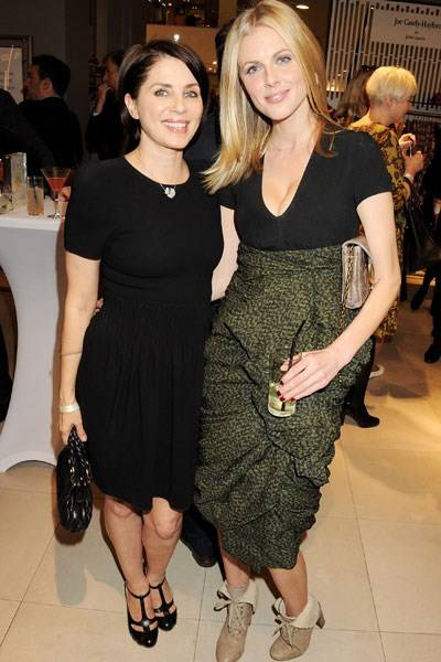 Sadie Frost and Donna Air