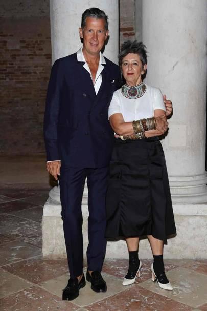 Stefano Tonchi and Maria Luisa Frisa