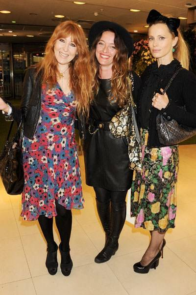 Charlotte Tilbury, Alice Temperley and Laura Bailey