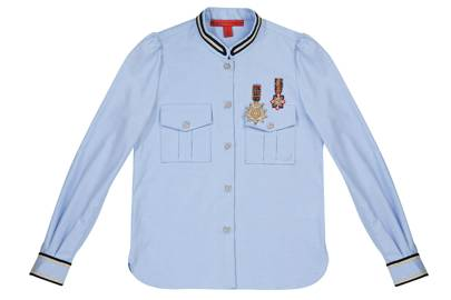 EMBELLISHED COTTON SHIRT, £370, BY HILFIGER COLLECTION