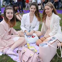 Chloe Maidment, Amelia Martin and Abbie Hewitt