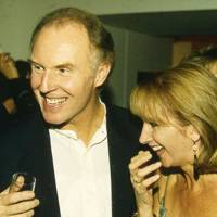 Tim Pigott-Smith and Mrs Richard Burton