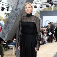 Princess Charlene of Monaco at the Akris show.
