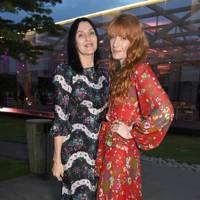 Susie Cave and Florence Welch